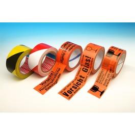 Warn- / Kennzeichnungs- klebeband mit Standarddruck