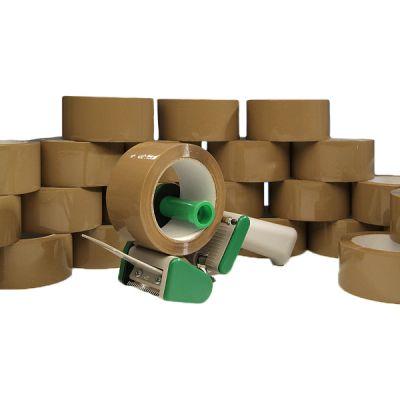 Klebeband-Set für Allrounder bestehend aus: 1 Stk. Handabroller und 36 Rll. Klebeband